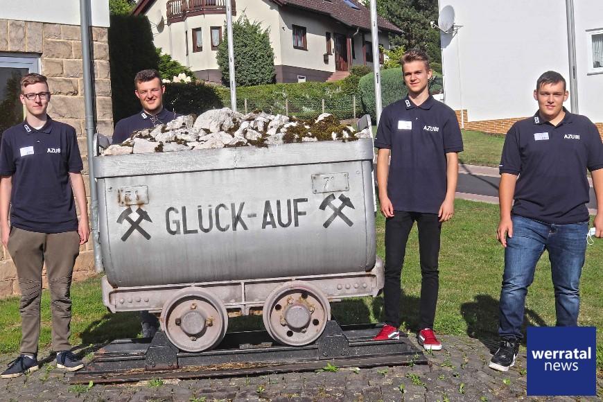 K+S: Neue Azubis und Umschüler starten Ausbildung im Werk Werra