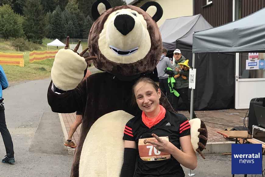 Starke Leistung von Nina Stein beim Bären Run