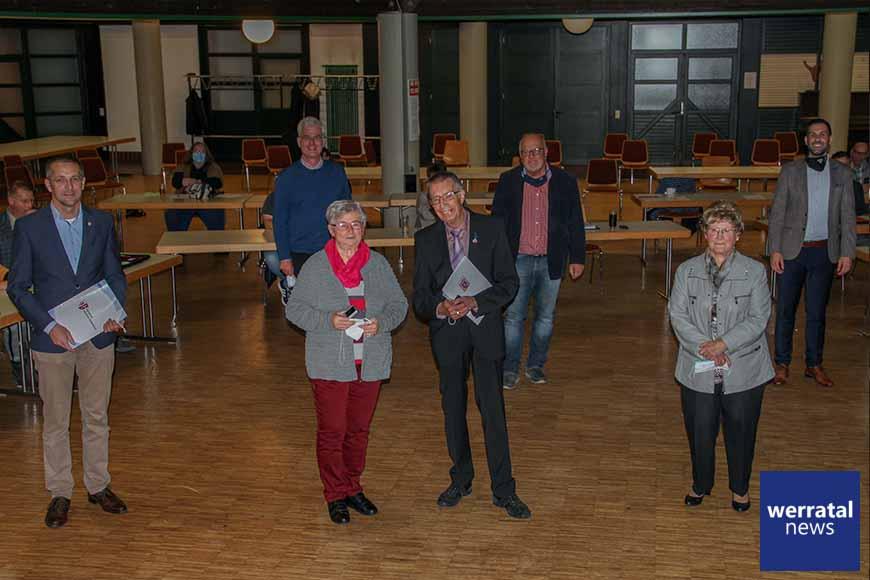 SPD Heringen wählt für Kommunalwahl / Ehrung für Alfred Rost