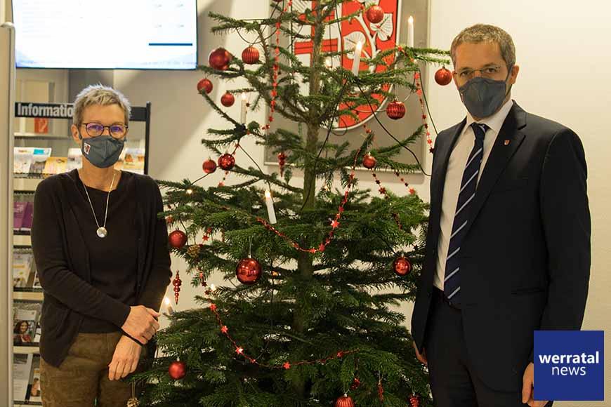 Weihnachtsbotschaft von Landrat Dr. Michael Koch und Elke Künholz