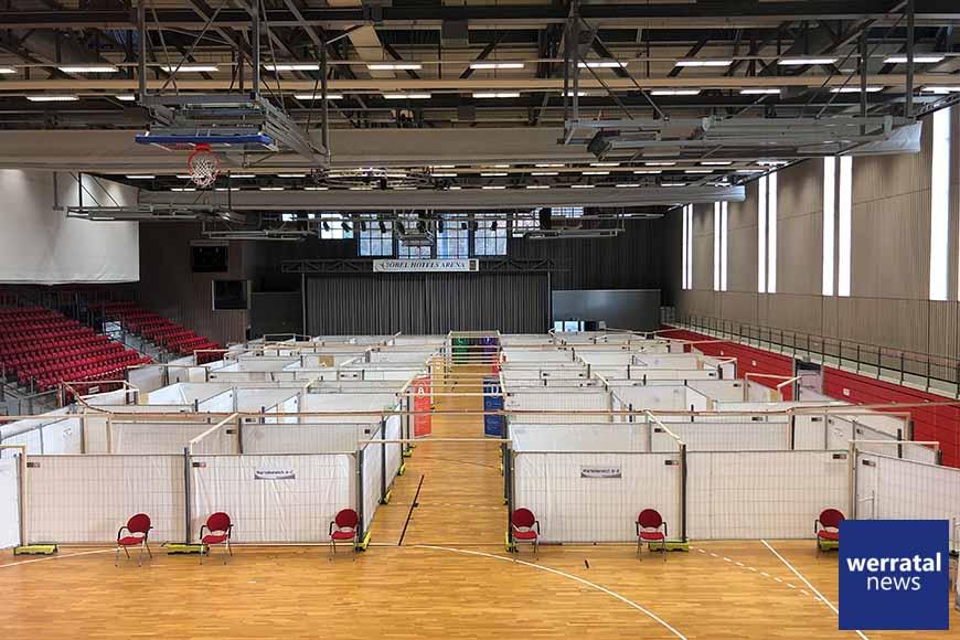 Impfzentrum des Landkreises Hersfeld-Rotenburg nimmt am Dienstag den Betrieb auf
