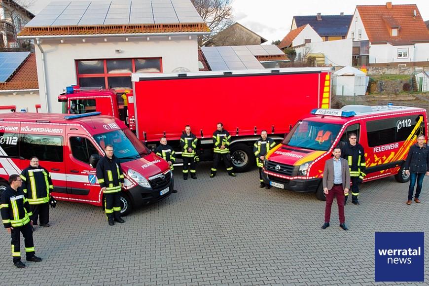 Bedarfs- u. Entwicklungsplan umgesetzt: Neue Fahrzeuge für Heringer Feuerwehren