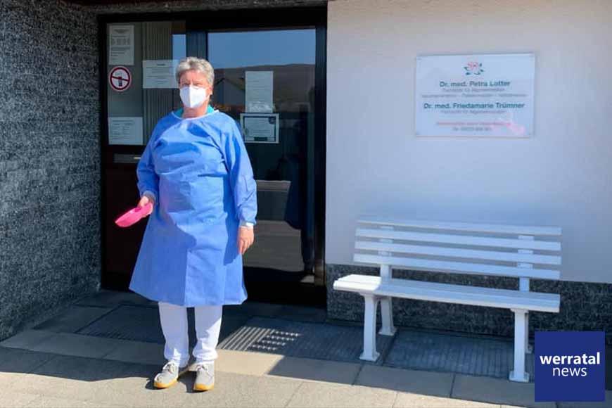 Kindergarten Ausbach bedankt sich bei Frau Dr. Lotter