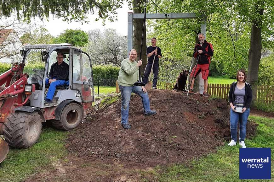 Neuer Rutschenspaß in Mansbach