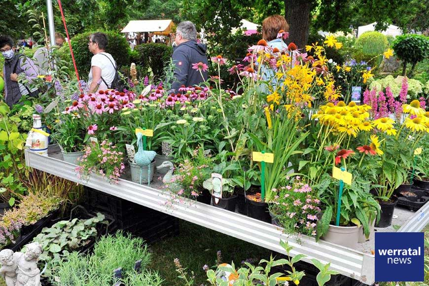 Friedewalder Gartenmarkt vom 9. bis 11. Juli 2021