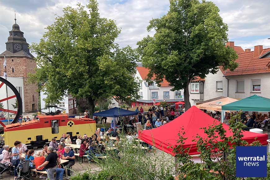 250 Zuschauer erleben Auftakt des Heringer Kultursommer2021 mit Shiregreen