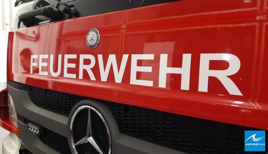 Toter bei Wohnhausbrand in Obersuhl
