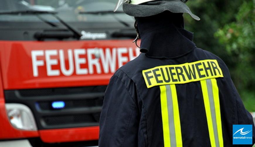 30.000 Euro Schaden bei Schuppenbrand in Friedewald