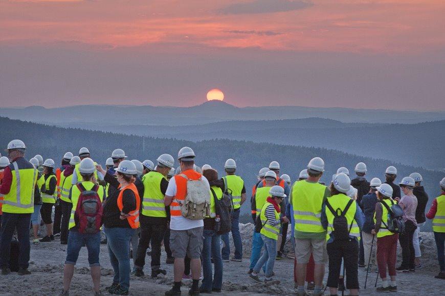 Letztmalig in diesem Jahr den Sonnenuntergang auf dem Monte Kali erleben