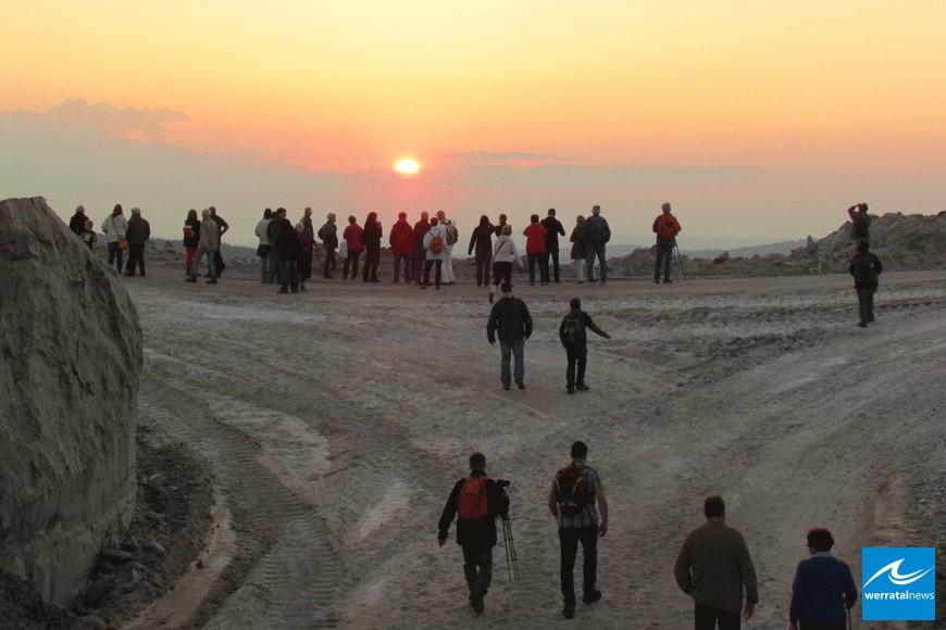 Anmelden zur Sonnenuntergangsführung und Wanderung